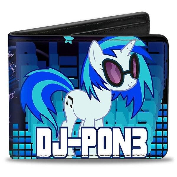 DJ Pon3 + Electric DJ Scene Bi Fold Wallet - One Size Fits most