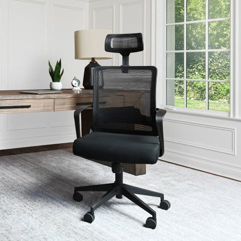 Abbyson Sayner Ergonomic Adjustable Mesh Office Chair
