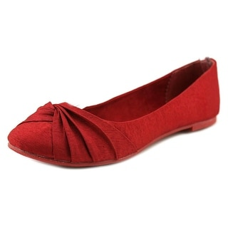 Rocket Dog Myrna Women Round Toe Canvas Red Flats