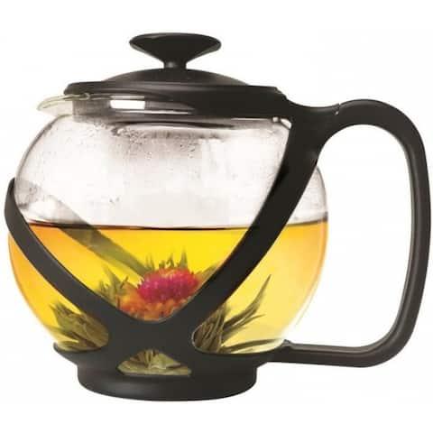 Primula PTA-2340 Tempo Round Glass Teapot, 40 Oz