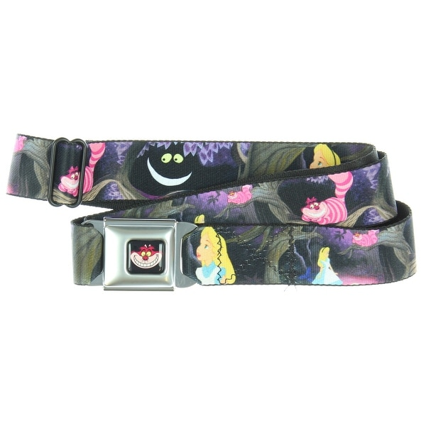 Disney Alice in Wonderland Cheshire Cat Seatbelt Belt-Holds Pants Up