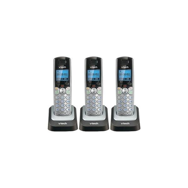 Vtech DS6101(3 Pack) 2-LineAccessory Handset w/ Blue Backlit LCD Display