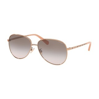 Link to Coach HC7094 93313B 60 Shiny Rose Gold Woman Irregular Sunglasses Similar Items in Women's Sunglasses