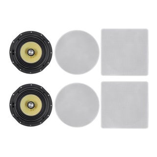Monoprice In-Ceiling Speakers (pair) - 8 inch