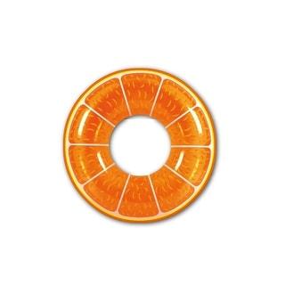 """42"""" Orange Fruit Inflatable Swimming Pool Inner Tube Ring Float"""
