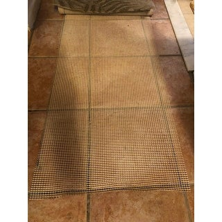 """Anti-Slip Strong Hold Firm Grip Non-Slip Rug Pad (0.125"""") - Beige - 2' x 1'"""