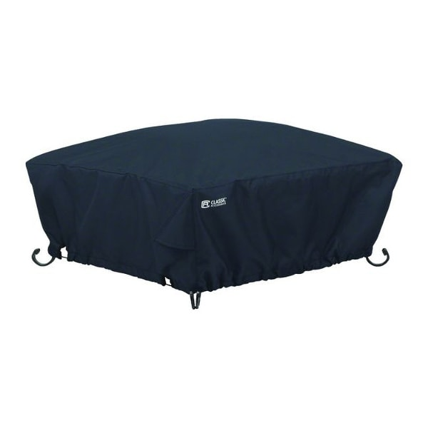 Classic Accessories 12 in. H X 36 in. W X 36 in. L Black Polyester Fire Pit Cover. Opens flyout.