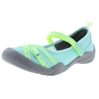 M.A.P. Motion Girls Colorblock Flats - 1 medium (b,m)