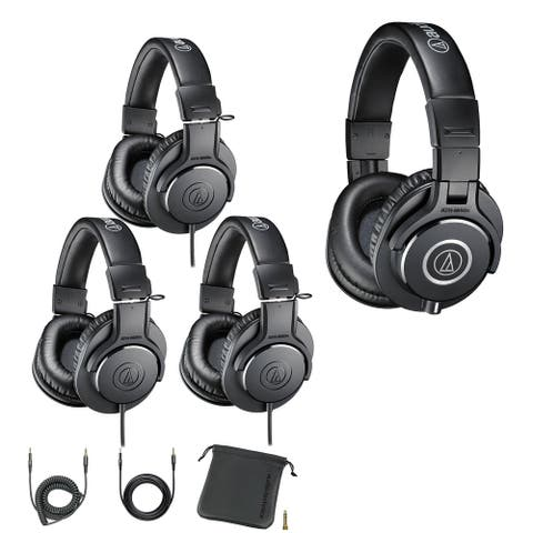 Audio-Technica ATH-PACK4 Professional Studio Headphones Pack (4