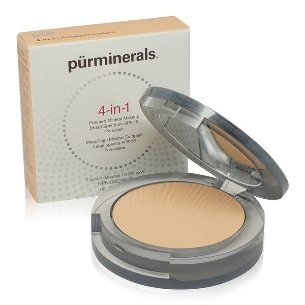 PUR 4-In-1 Pressed Mineral Makeup - Porcelain 0.28 Oz