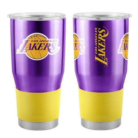 Los Angeles Lakers Travel Tumbler 30oz Ultra Purple