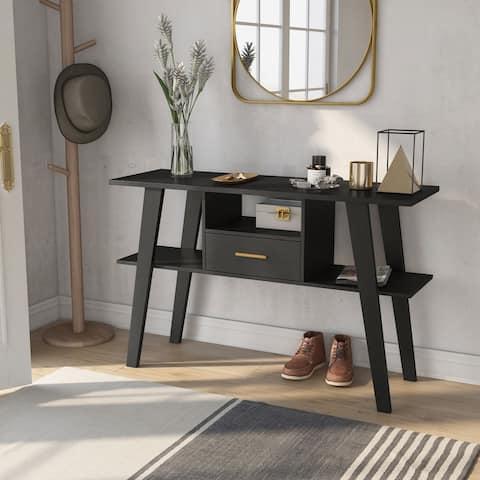 Carson Carrington Hogheden Contemporary 47-inch 3-shelf Console Table