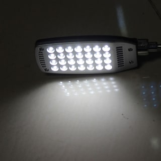 "Home Desktop Portable Flexible Neck USB 28 LEDS Light for Laptop - Black, Silver Tone - 16.5""Len"