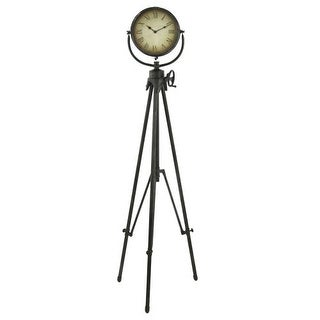 Aspire Home Accents 5866 Declan Tripod Floor Clock