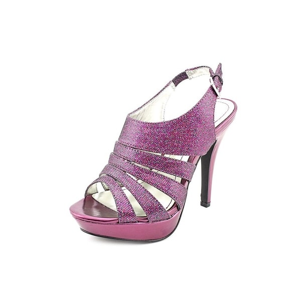 Style & Co Sierria Women Open Toe Synthetic Purple Platform Sandal