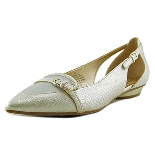 Circa Joan & David Janitsa Pointed Toe Synthetic Slingback Heel