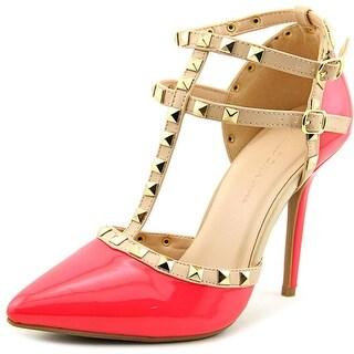 Wild Diva Adora-64 Pointed Toe Synthetic Heels