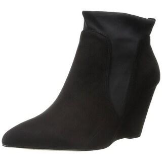 Bella Vita Womens Deryn Leather Pointed Toe Ankle Fashion Boots