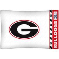 University of Georgia Pillowcase