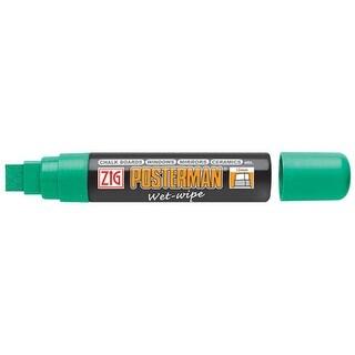Zig - Posterman Wet-Wipe Marker - Jumbo Tip - 15mm - Green
