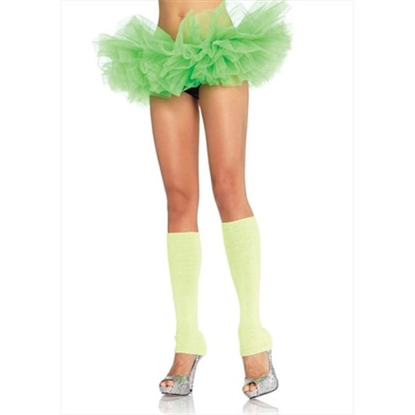 0131171c23 Shop Leg Avenue A1705 Organza Tutu One Size Neon Green - Free ...