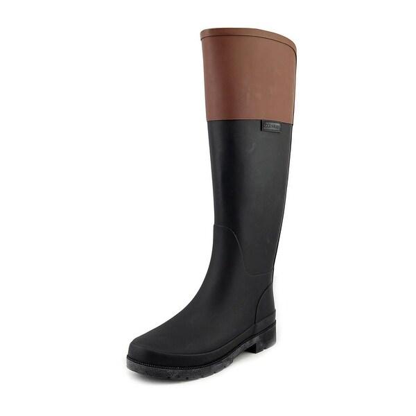 Marc Fisher Civil Women Black Multi Snow Boots