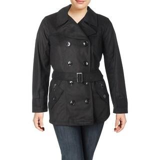 Urban Republic Womens Juniors Pea Coat Wool Blend Jacket