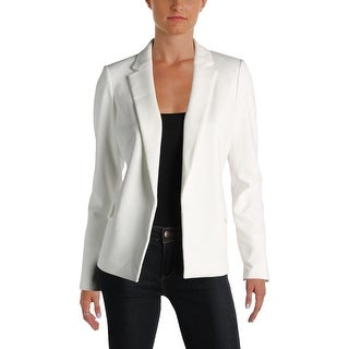Calvin Klein Womens Petites Blazer Notch Collar Open Front (2 options available)
