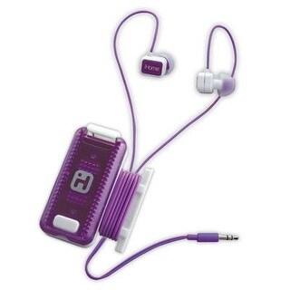 Ihome - Ib12wu - Fitness Earbuds White Purple