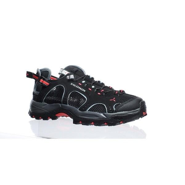 62e2da19444 Shop Salomon Womens Techamphiban 3 Black Hiking Shoes Size 5 - On ...