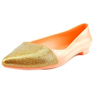 Cape Robbin Belita Women Pointed Toe Synthetic Pink Flats