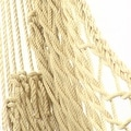 Sunnydaze Cotton Rope Hammock Chair with Wood Spreader Bar - Thumbnail 8