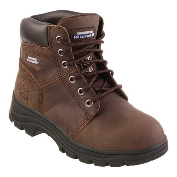ffb9914560b Shop Skechers Women's Work Relaxed Fit Workshire Peril Steel Toe ...