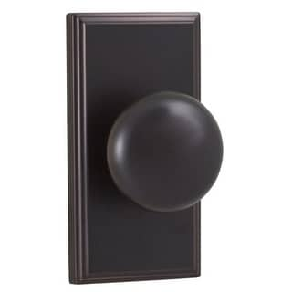 Weslock 3700I Impresa Passage Door Knob with Woodward Rose from the Elegance Collection