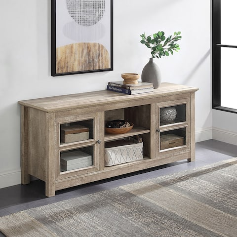 "BELLEZE 58"" TV Stand Console Entertainment Center Storage Shelves - standard"