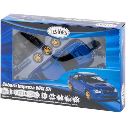 Testors Model Kit-Subaru Impreza - Metal
