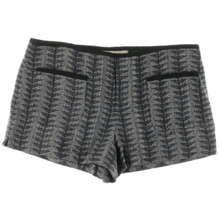 Rachel Roy Womens Woven Pattern Dress Shorts - 14