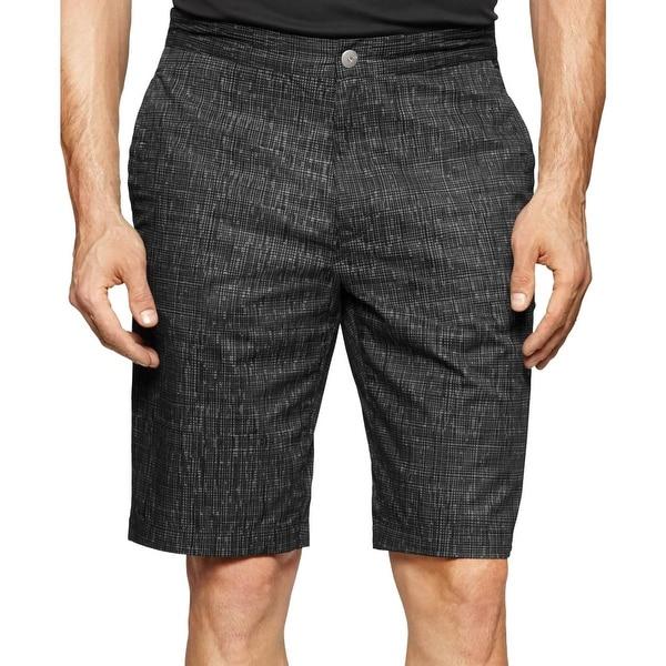 Calvin Klein Mens Casual Shorts Woven Printed