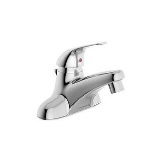 Symmons S-9612-1.0 Origins Centerset Bathroom Faucet - Includes Metal Pop-Up Drain Assembly