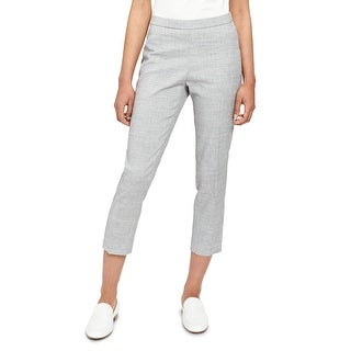 Link to Theory Womens Ankle Pants Straight Leg Pull On - Eco Sharkskin Similar Items in Pants