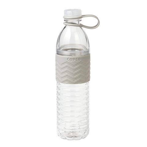 Copco 2510-2297 Cool Grey Large Hydra Chevron Bottle, 20 Ounce