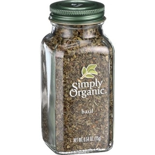 Simply Organic - Basil ( 2 - .54 OZ)