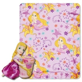 Disney Tangled Rapunzel Throw Blanket and Pillow Set