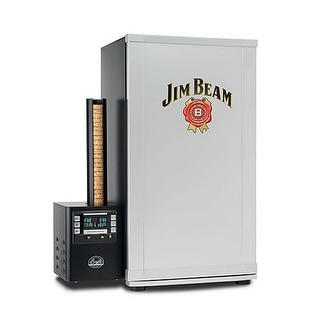 Bradley BTDS76JB Jim Beam 4 Rack Digital Smoker - Silver