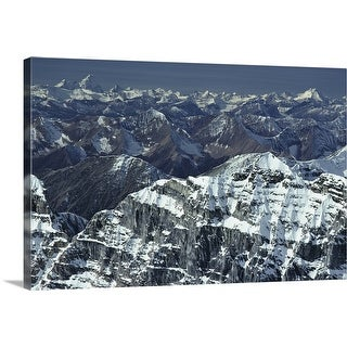 """""""View from Mt. Temple Banff National Park Alberta, Canada"""" Canvas Wall Art"""