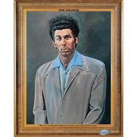 ''Kramer (Seinfeld)'' by Larry Salk Humor Art Print (20 x 16 in.)