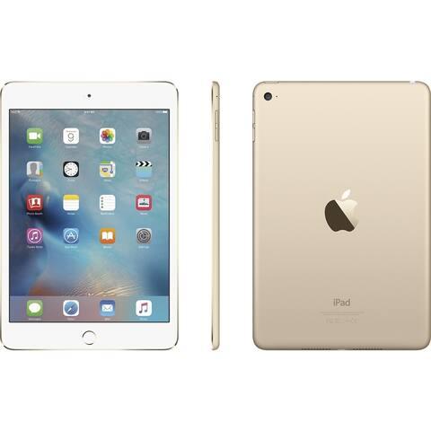 """Apple iPad Mini 4 MK9Q2LL/A 128GB Wifi 7.9"""", Gold (Certified Refurbished)"""