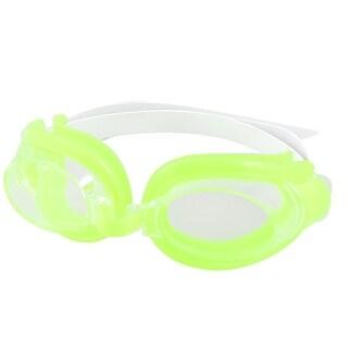 Unique Bargains Unique Bargains Adjustable Strap Clear Lens Eyeglasses Swim Goggles w Earplugs For Kids