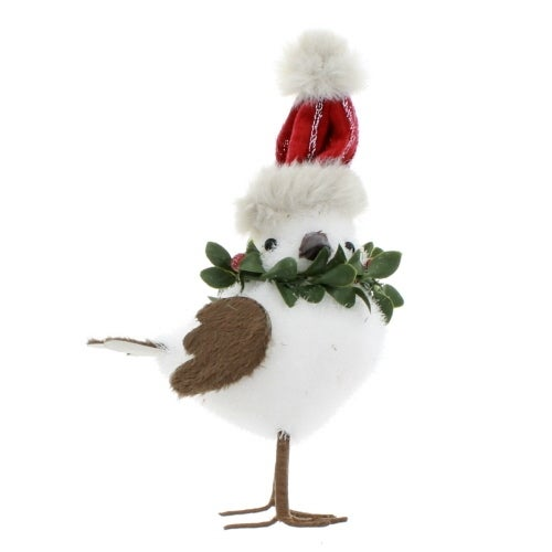 White Snowcap Bird