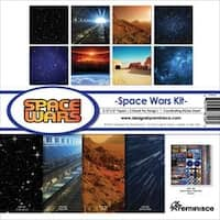 """Space Wars - Reminisce Collection Kit 12""""X12"""""""